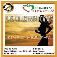 Colostrum Powder 100g Pure Bovine Colostrum 20%igg Premium Quality Product