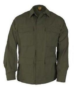 AgréAble Us Propper Bdu Army Outdoor Loisirs Veste Coat Jacket Shirt Olive Small Regular-afficher Le Titre D'origine 100% D'Origine