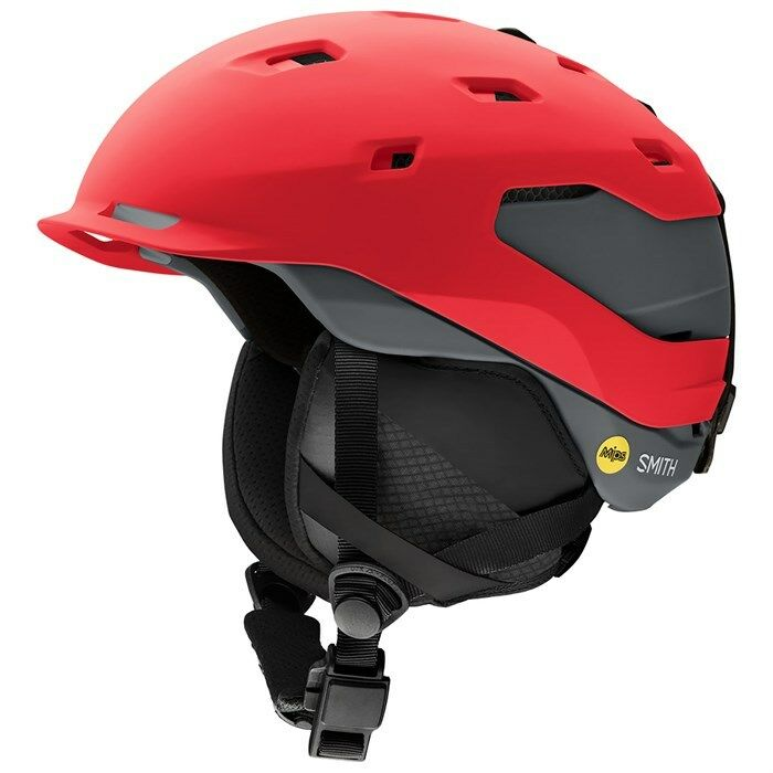 Smith Quantum MIPS Helmet Red Matte Fire  Charcoal - Small  be in great demand
