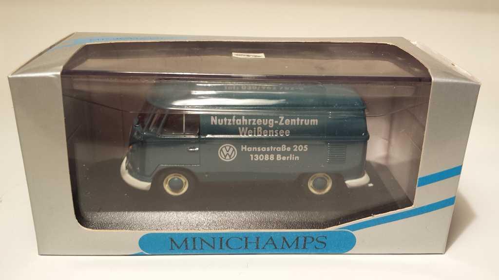 Pauls modelo tipo Minichamps 1  43 VW (autobús transportador) extremadonnate producto escaso werbem.