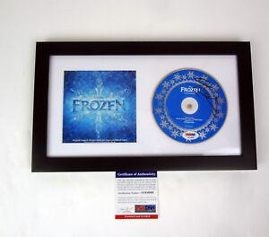Idina-Menzel-Elsa-Let-It-Go-Signed-Autograph-Frozen-OST-CD-Framed-PSA-DNA-COA
