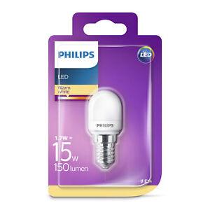 Philips-LED-T25-Frosted-E14-Edison-15W-Appliance-Fridge-Freezer-Light-Bulb-150Lm