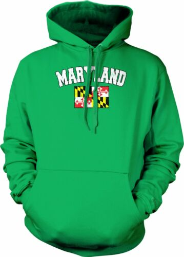 Maryland State Flag Pride Calvert and Crossland Cecil Baltimore Hoodie Pullover