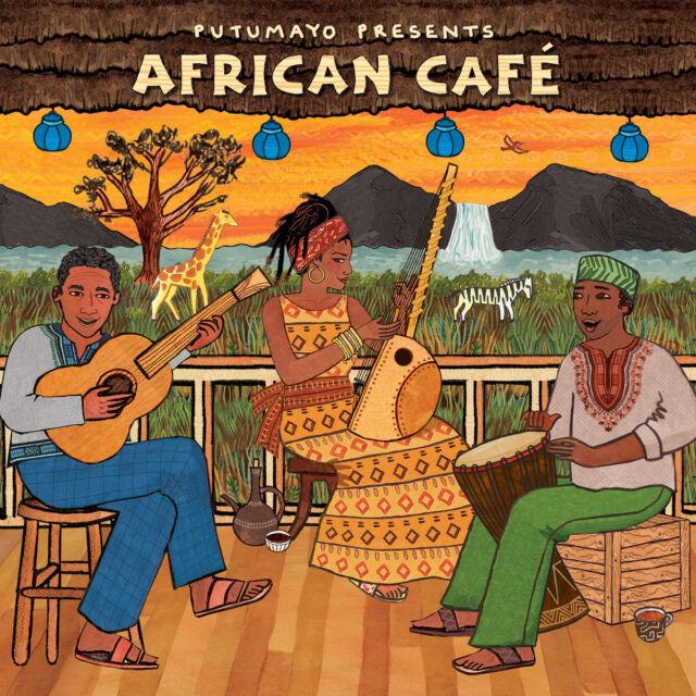 Putumayo Presents African Cafe [Digipak] by Various Artists (CD, Feb-2018,  Putumayo)