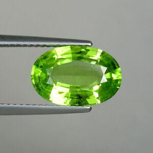 3-83-ct-LUSTROUS-BEST-GREEN-BURMESE-NATURAL-PERIDOT-Oval-Gems