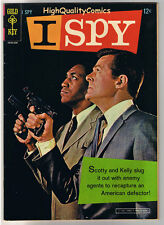 I SPY #1, VF, Bill Cosby, Robert Culp, Photo, Gold Key, 1966, more in store