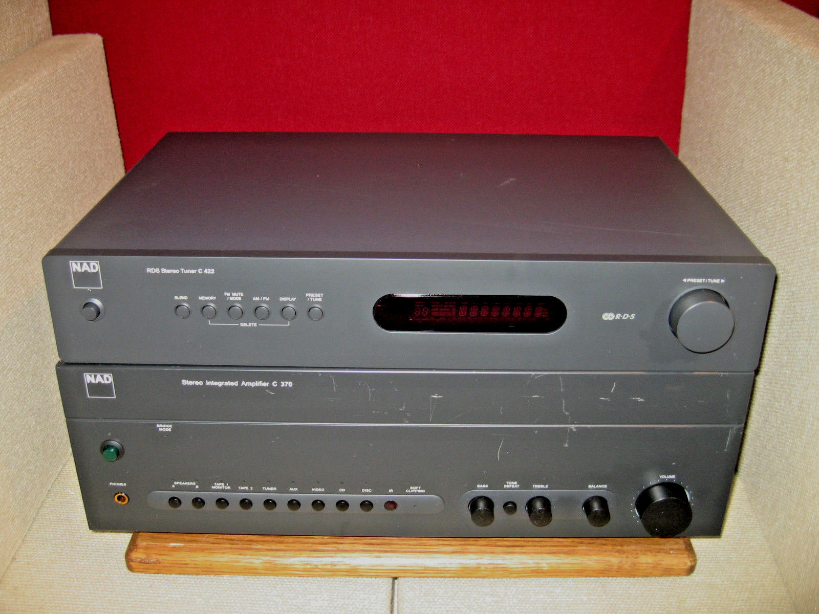 NAD C370 2 Channel Integrated Amplifier