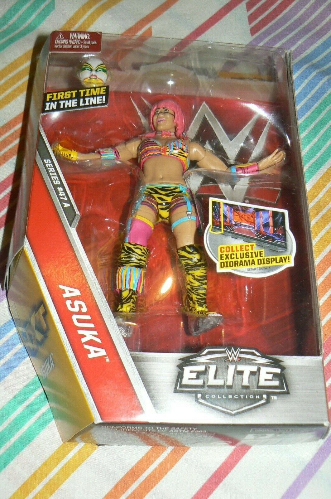 WWE ELITE SERIES 47A ASUKA FIRST TIME IN THE LINE ACTION FIGURE