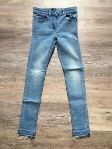 mejor valor estilo limitado variedades anchas Détails sur Kiabi Jean Bleu Clair Fille 8 Ans 126 131 Cm