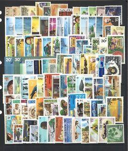 Nauru-100-Different-Stamps-in-Glassine-Bag-Mint-amp-Used
