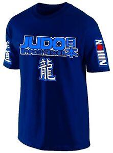 T-SHIRT-JUDO-MARTIAL-ART-JAPAN-COMBAT-SPORTS-Jersey-Siebdruck