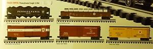 """K-line K623-1897a Pennsylvania Freight 5-pac """"factory Sealed"""" Comfortable Feel Toys & Hobbies O Scale"""