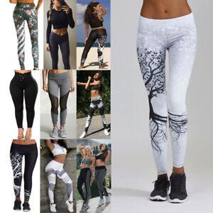 Women-Sport-Gym-Yoga-High-Waist-Running-Pants-Fitness-Elastic-Leggings-Workout
