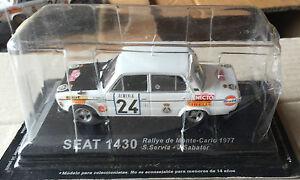 DIE-CAST-034-SEAT-1430-RALLYE-DE-MONTE-CARLO-1977-034-RALLY-DEA-SCALA-1-43
