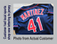 thumbnail 11 - Tackle Twill Pro Cut Baseball Number Pair Team Uniform Jersey Patches Not Sewn