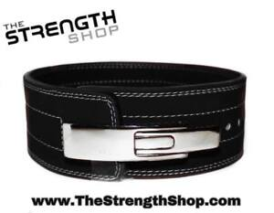 Strength Shop 10MM Black POWERLIFTING LEVER BELT FREE SHIPPING SMALL
