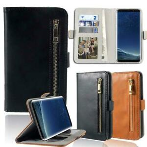 Flip-Cover-Stand-Wallet-Leather-Case-For-Samsung-Galaxy-S-1-2-3-4-5-6-7-Phones