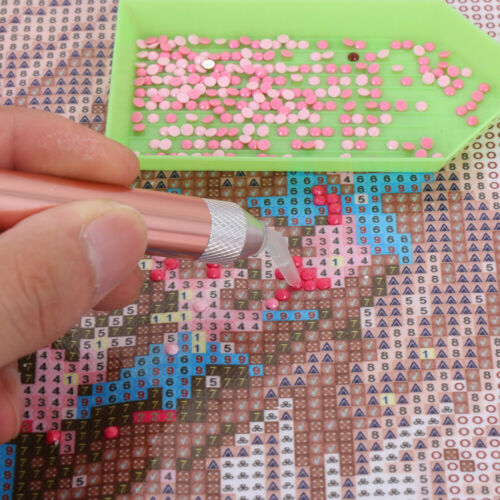 5D Diamond Painting Cross Stitch Embroidery Nail Art Point Drill Pen DIY Craft A
