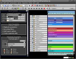 Details about Rosegarden Pro MIDI Sequencer Music Notation Software FAST!  3 0 USB For Windows