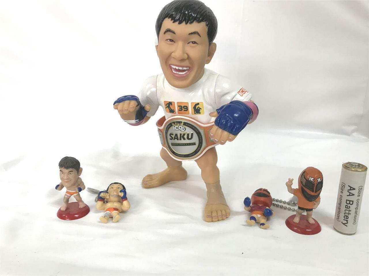 Kazushi Sakuraba Hao Set Figuras De Colección NJPW UFC MMA Pride UWF cociente de inteligencia