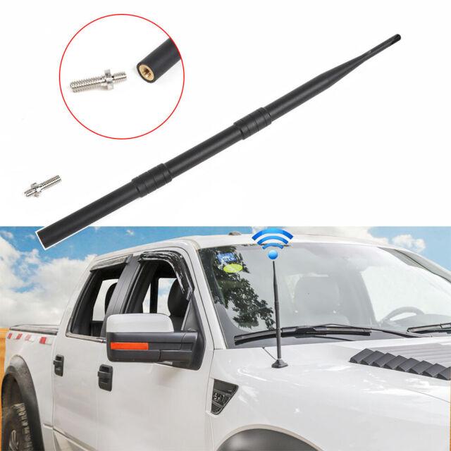 "For Toyota Tundra Dodge Ram Jeep 13/"" Short Flexible Rubber Signal AM FM Antenna"