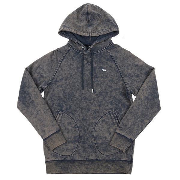 Brand New BENNY GOLD Premium Enzyme Navy Pullover Hoodie Sweatshirt