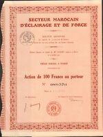 Secteur Marocain D'eclairage & De Force (maroc) (b)