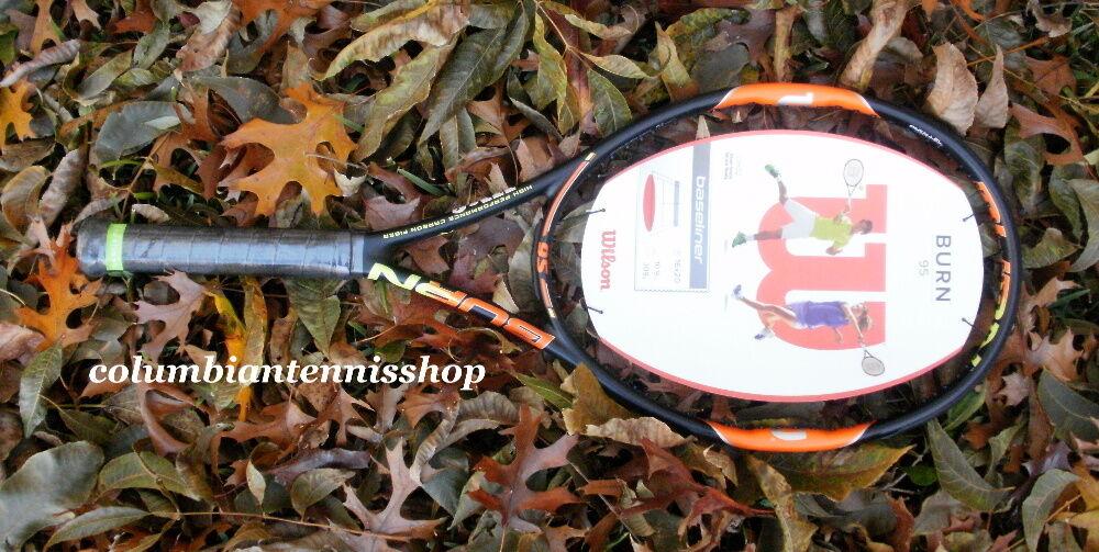 Nuevas Tenis Wilson quemar 95 16X20 Smart Sensor Listo