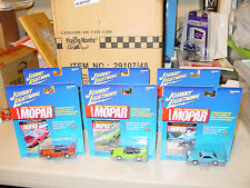 2000 JOHNNY LIGHTNING MOPAR PERFORMANCE SUPERBIRD AAR CUDA ROAD RUNNER BUNDLE 6