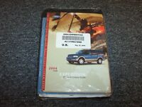 2004 Ford Expedition Owner Owner's Operator Manual Set Xls Xlt Sport Eddie Bauer