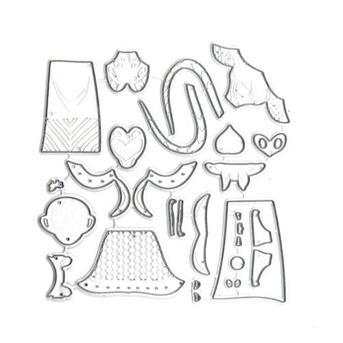 Card Metal Cutting Die Scrapbook Paper Craft Mould DIY Wedding Celebration Decor