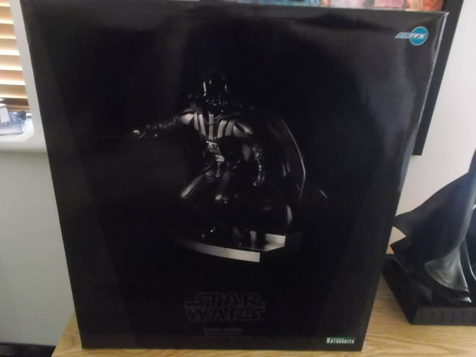 Kotobukiya 1 7 Scale Star Wars Artfx Darth Vader Figure Statue