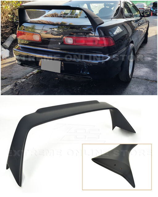 MUGEN Style ABS Plastic Rear Trunk Wing Spoiler For 94-01