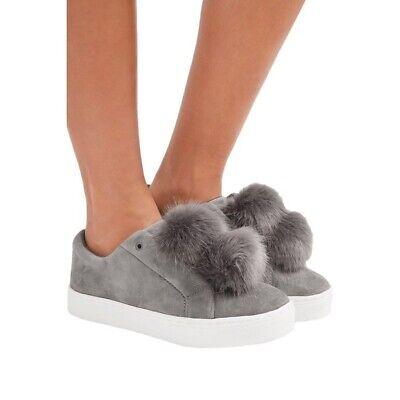 Sam Edelman Leya Pom Pom Sneakers Size