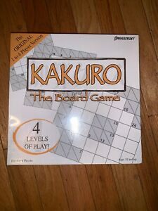 Kakuro-Board-Game-Pressman-New-Sealed-2006