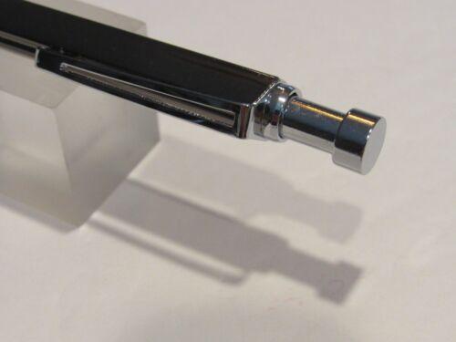 "TERZETTI /""TRINITY/"" GREY GUNMETAL Metal SLIM Heavy Ballpoint Pen-Gift Box"