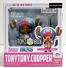 "In STOCK Bandai S.H Figuarts Zero ""Tony Tony Chopper"" New World One Piece Statue"