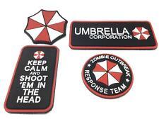 Resident Evil Umbrella PVC Airsoft Patch SET