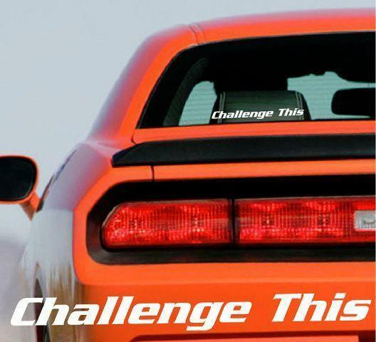 DODGE DEMON large car /& truck vehicle decals//stickers