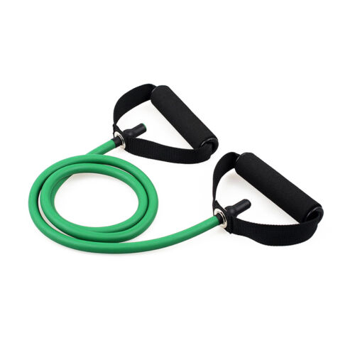 POP Resistance Band Pilates Tube Workout Gym Yoga Fitness Stretch Exercise Rope