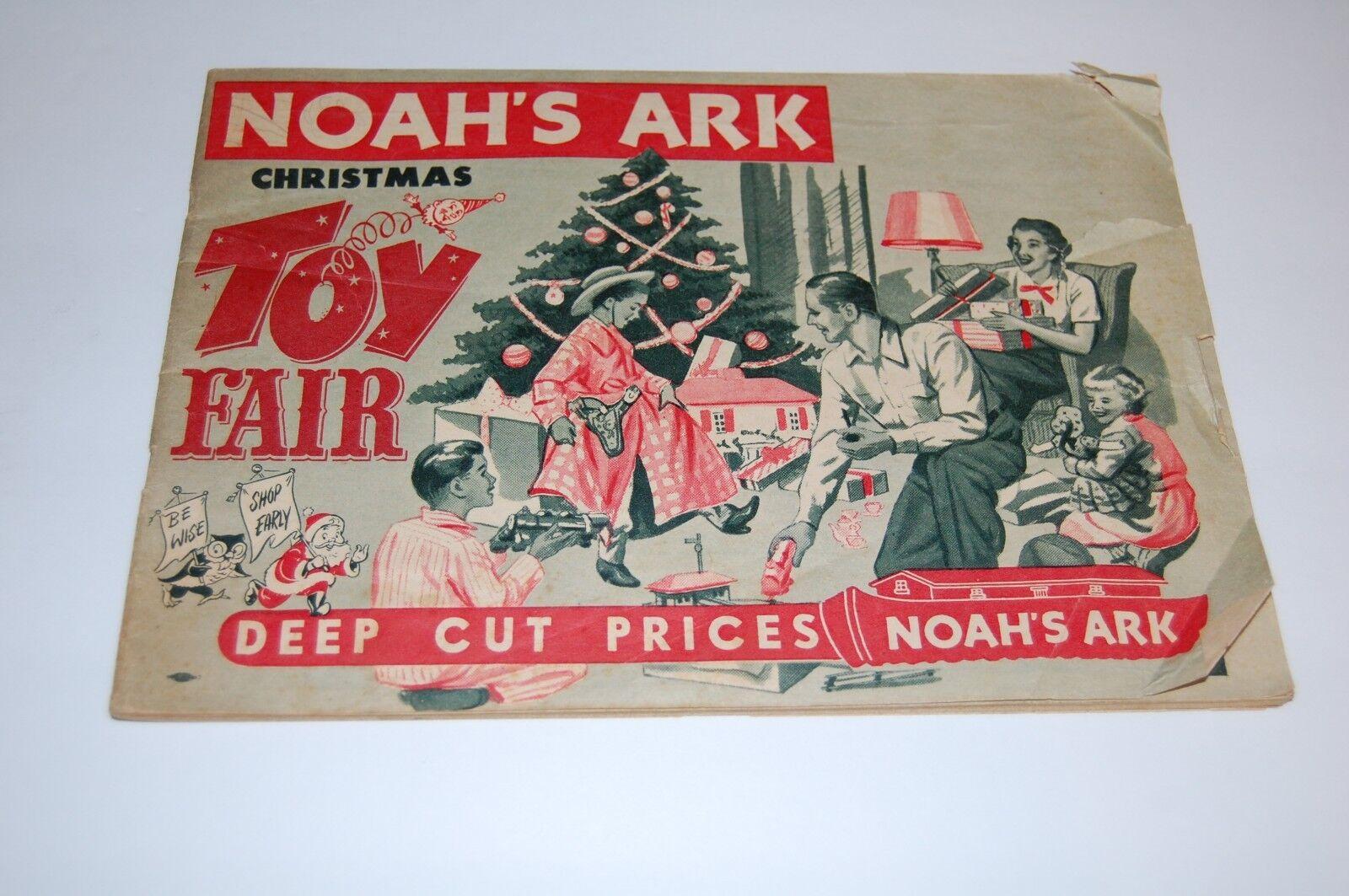 Vintage 1950 Noah's Ark CHRISTMAS TOY Catalog - Rochester   Buffalo New York