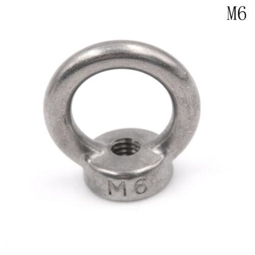M5-M12 304 acier inoxydable anneau de levage écrou à œillet Xy