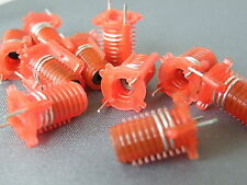 10x Toko Type S18 Coils Red 2.5 Turns 301SN0200 RF Ham Radio Projects