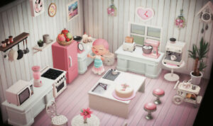 Animal-Crossing-New-Horizons-beautiful-kitchen-in-white-pink-37-pieces