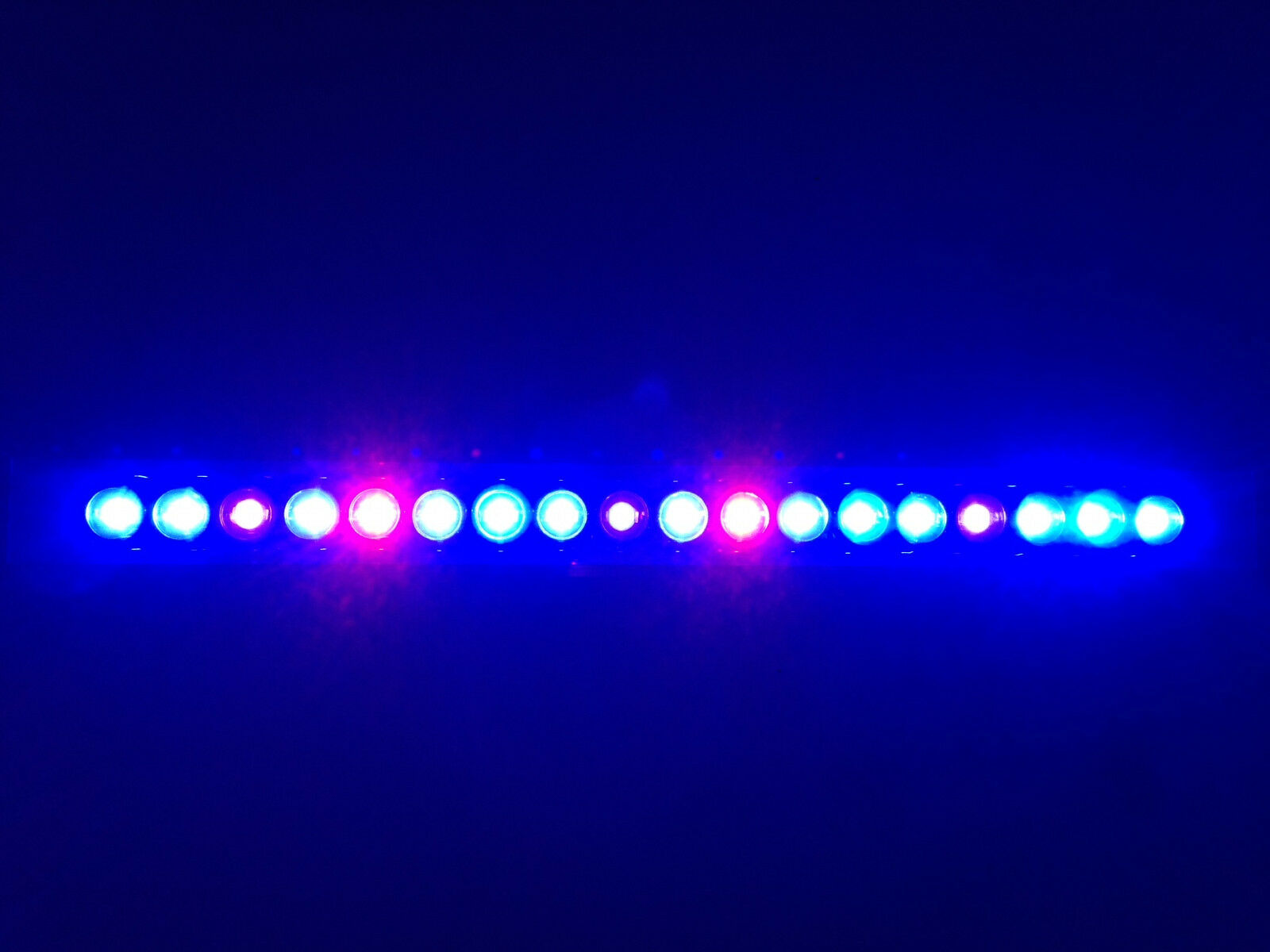 Aquarium LED Light Light Light Bar 20  ReefBar Pro Ultra Actinic blu 18 x 3W Bridgelux 29g 94992f