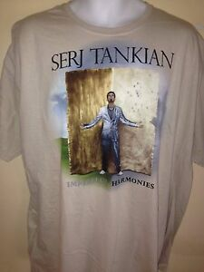 SERG-TANKIAN-IMPERFECT-HARMONY-2010-OFFICIAL-2XL-T-SHIRT-ROCK-SYSTEM-OF-A-DOWN