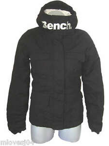 Astounding Details About Bench Grey Padded Hooded Winter Jacket Funnel Neck Coat Bnwt Xs 79 99 Ibusinesslaw Wood Chair Design Ideas Ibusinesslaworg