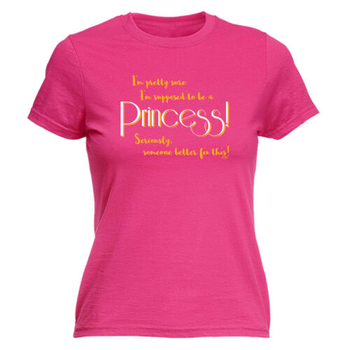 Drôle Nouveauté Tops T-shirt femme tee tshirt-Im Pretty Sure Im Supposed To Be