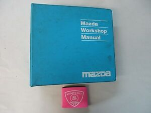 2001 MAZDA MX-5 MIATA SERVICE SHOP REPAIR MANUAL & WIRING ...