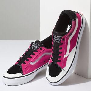 Vans TNT Advanced Prototype Black Magenta White Men s Skate Shoes ... 1f7a846d3
